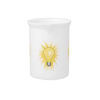 Bombilla - amortigüe las luces jarrón