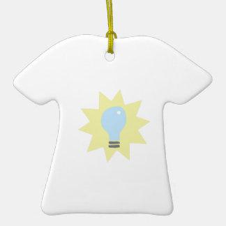 Bombilla Adorno De Cerámica En Forma De Camiseta