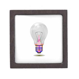 bombilla realista con base png coloreado caja de regalo de calidad