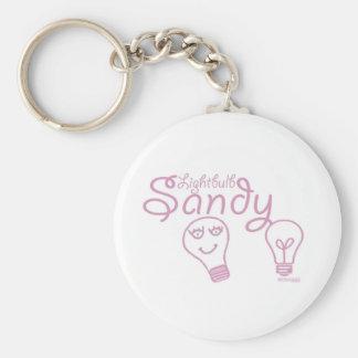 Bombilla Sandy Llavero Personalizado
