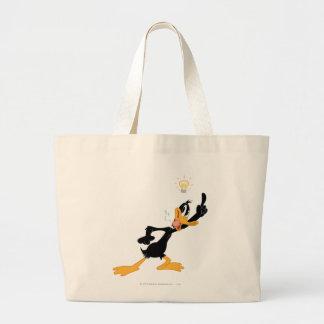 Bombilla sobre la cabeza del pato de Daffy Bolsa