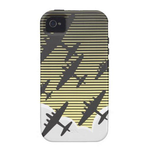 Bombing Night Raid Case-Mate iPhone 4 Cases