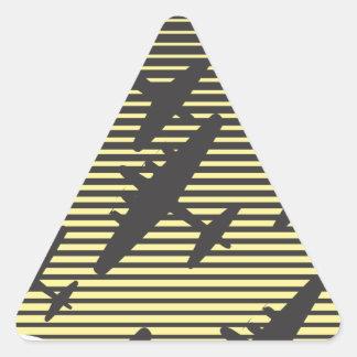 Bombing Night Raid Triangle Sticker