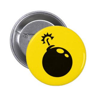 Bombs Away! 2 Inch Round Button