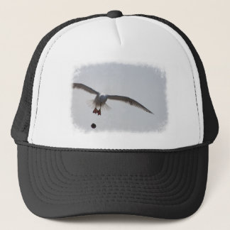 Bombs away bird trucker hat