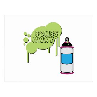 Bombs Away Post Card