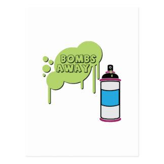 Bombs Away Post Cards