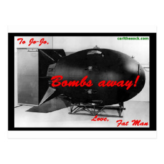 Bombs Away! Postcard