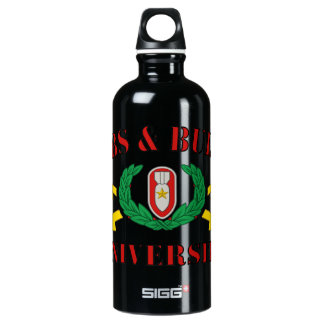 Bombs & Bullets University Water Bottle