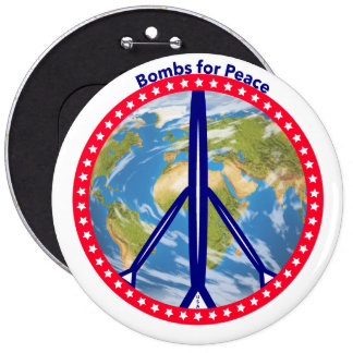 Bombs for Peace Button