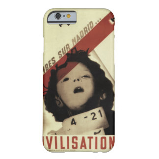 Bombs over Madrid_Propaganda Poster Barely There iPhone 6 Case