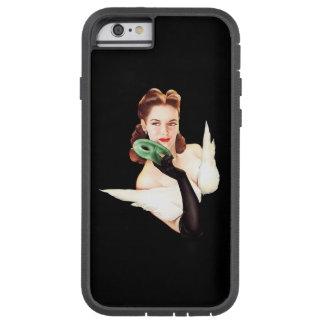 BOMBSHELL BAD GIRLS Retro Pin-Ups Tough Xtreme iPhone 6 Case
