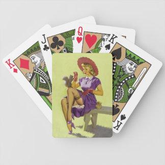 BOMBSHELL BAD GIRLS Retro Pin-Ups Bicycle Playing Cards