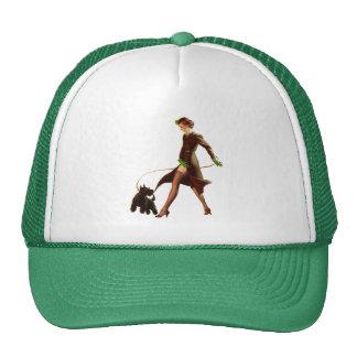BOMBSHELL BAD GIRLS Retro Pin-Ups Trucker Hat