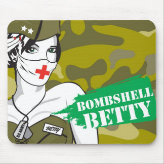 Bombshell Betty Mouse Pad