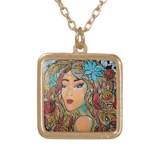 Bombshell Gold Plated Necklace