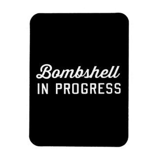 Bombshell in Progress Magnet