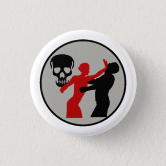 Bombshell Scout Self Defense Merit Badge Button