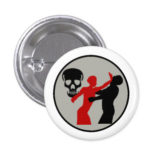 Bombshell Scout Self Defense Merit Badge Button