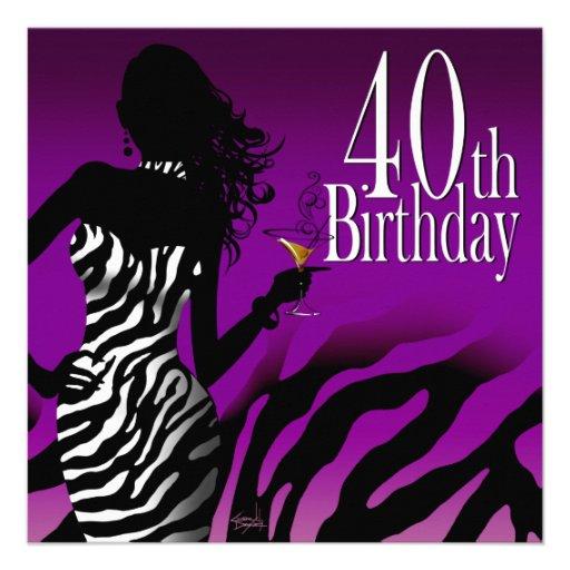 40th Birthday Decorations Purple 28 Images 40th