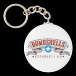 Bombshells Keychain