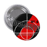Bombsite issue 4 Book Project Pinback Button