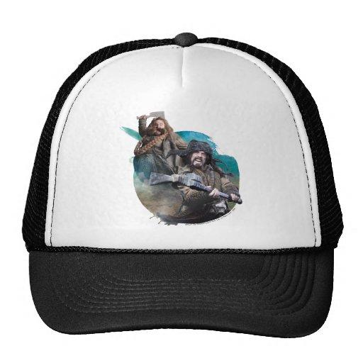 Bombur and Bofur Mesh Hats
