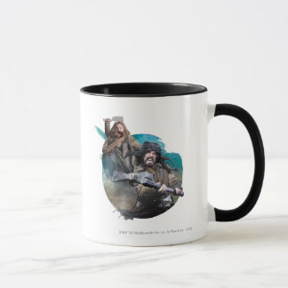 Bombur and Bofur Mug