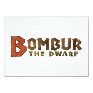 Bombur Name Card