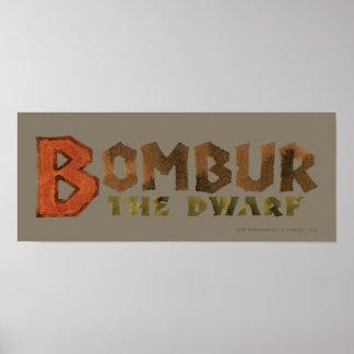 Bombur Name Poster