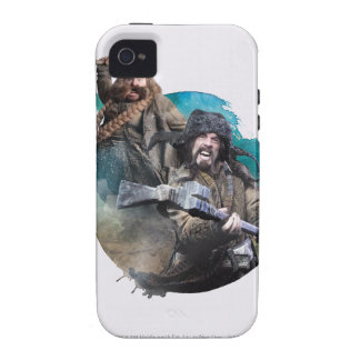 Bombur y Bofur iPhone 4 Carcasas