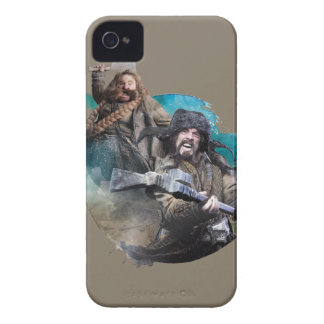 Bombur y Bofur iPhone 4 Protectores