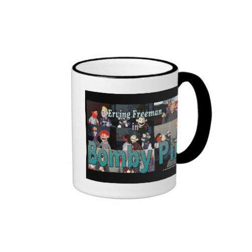 Bomby Pin mug