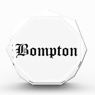 Bompton Acrylic Award