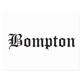 Bompton Postcard