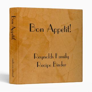 Bon Appetit 2.0 Recipe Binder