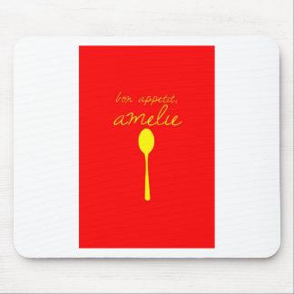 Bon appetit, Amelie Mouse Pad