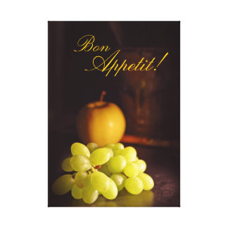 Bon Appetit! Apple and Grapes Wall Art