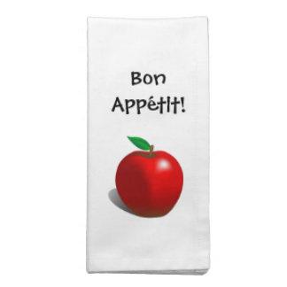 Bon Appétit Apple Napkins