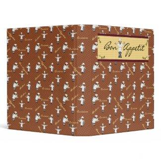 Bon Appetit Avery Binder (Brown) binder