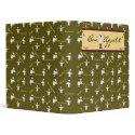 Bon Appetit Avery Binder (Green) binder