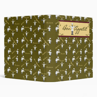 Bon Appetit Avery Binder (Green)