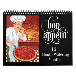 Bon Appetit Calendar