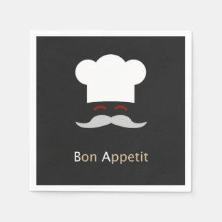 Bon Appetit Chef Paper Napkin