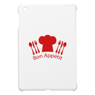 Bon Appetit Elegant Chef Hat iPad Mini Cases