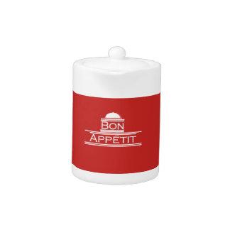 Bon Appetit-Enjoy Your Meal Teapot