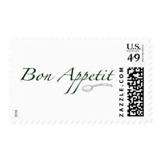 Bon Appetit Estampilla