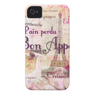 Bon Appetit French cuisine words and pictures iPhone 4 Case