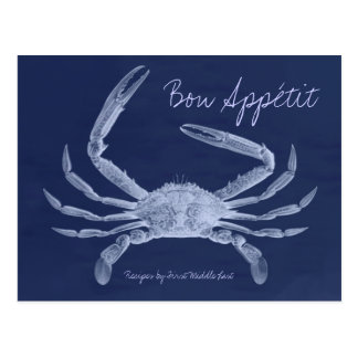 Bon Appétit King Crab Recipe Card