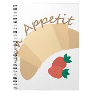 Bon Appetit Libro De Apuntes Con Espiral